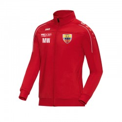 Polyesterjacke Classico rot